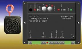 Z-Stuff Trolley Announcement & Control System O Scale Model Railroad Electrical Accessory #1220
