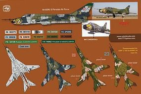 Zotz Su22M3/4 Plastic Model Aircraft Decal 1/32 Scale #32041