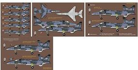 Zotz French Jaguar in Kosovo Plastic Model Aircraft Decal 1/48 Scale #48044