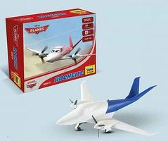 Zvezda Rochelle Disney Movie Planes 1/100 Scale Snap Tite Plastic Model Aircraft #2070