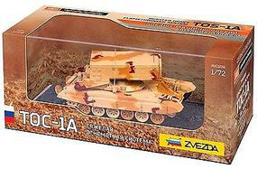 Zvezda Heavy Russian Rocket Launcher TOS-1A Plastic Model Military Vehicle 1/72 Scale #2501