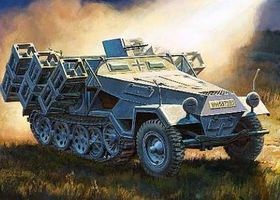 Zvezda Sdkfz 251/1 Ausf B Personnel Carrier Plastic Model Military Vehicle Kit 1/35 Scale #3625