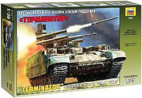 Zvezda BMPT Terminator Russian Armored Fighting Plastic Model Military Vehicle 1/35 Scale #3636