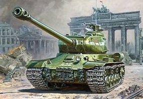 Zvezda IS-2 Stalin Heavy Tank Plastic Model Tank Kit 1/72 Scale #5011