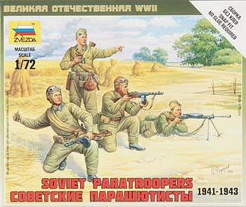 Zvezda Models German Elite Troops 1941-1943 SnapFit Model Kit