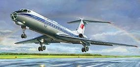 Zvezda Tupolev Tu-134 A/B-3 Russian Airliner Plastic Model Airplane Kit 1/144 Scale #7007