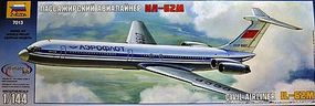 Zvezda Ilyushin IL-62M 1/144 Scale Plastic Model Airplane #7013