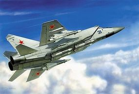 Zvezda MIG-31 Soviet Interceptor Plastic Model Airplane Kit 1/72 Scale #7229