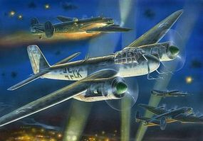Zvezda Junkers Ju-88G6 Nightfight Plastic Model Airplane Kit 1/72 Scale #7269