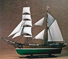 Zvezda English Brigantine 1/100 Scale Plastic Model Military Ship #9011