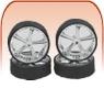 Plastic Model Wheel, Model Tire, Plastic Models Display Case, Detail Master, Hoppin Hydros, AMT, Pegasus