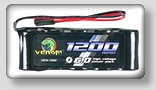 venom nimh 6.0 receiver batteries