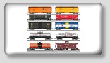 o scale model train freight car sets