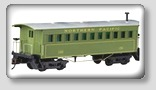 con-cor ho scale model train passenger cars