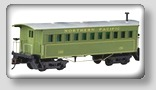 o scale model train passenger cars