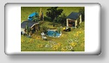 woodland model railroad scenery assortments