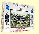 Napoleonic Wars- British 9-Pdr Cannon (1) -- Plastic Model Military Figure -- 1/32 Scale -- #23