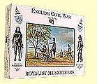 English Civil War- Royalist Musketeers (16) -- Plastic Model Military Figure -- 1/32 Scale -- #3