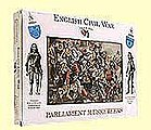 English Civil War- Parliament Musketeers (16) -- Plastic Model Military Figure -- 1/32 Scale -- #5