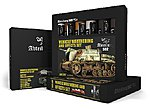 Vehicle Weathering & Effect Oil Paint Set (6 Colors) 20ml Tubes