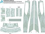 Star Trek USS Enterprise NCC1701A Refit (TMP) -- Plastic Model Spaceship Decals -- 1/350 -- #128