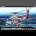 MH-60S HSC-9 Trients USN -- Plastic Model Helicopter Kit -- 1/35 Scale -- #12120