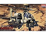 AH64A Apache US Helicopter -- Plastic Model Helicopter Kit -- 1/48 Scale -- #12262