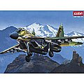 USSR MiG-29A Fulcrum -- Plastic Model Airplane Kit -- 1/48 Scale -- #12263