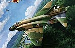 F-4C USAF VIETNAMESE WAR -- Plastic Model Airplane Kit -- 1/48 Scale -- #12294