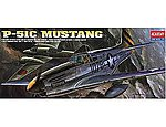 P51C Mustang Fighter -- Plastic Model Airplane Kit -- 1/72 Scale -- #12441