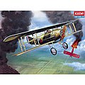 SPAD XIII WWI RAF -- Plastic Model Airplane Kit -- 1/72 Scale -- #12446