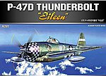 P47D Thunderbolt Eileen Fighter -- Plastic Model Airplane Kit -- 1/72 Scale -- #12474