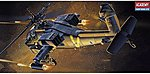 Apache AH-64A USA -- Plastic Model Helicopter Kit -- 1/72 Scale -- #12488