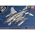 F-4J Showtime 100 -- Plastic Model Airplane Kit -- 1/72 Scale -- #12515