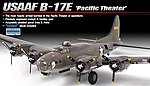 B-17E USAAF Pacific Theater -- Plastic Model Airplane Kit -- 1/72 Scale -- #12533
