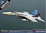 F/A-18C US Navy VFA-82 Marauders -- Plastic Model Airplane Kit -- 1/72 Scale -- #12534