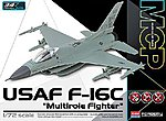 F-16C USAF Multirole Fighter MCP -- Plastic Model Airplane Kit -- 1/72 Scale -- #12541