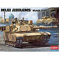 M1A1 Abrams US Army Tank Iraq 2003 -- Plastic Model Military Vehicle Kit -- 1/35 -- #13202