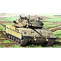 Merkava MK IID -- Plastic Model Military Vehicle -- 1/35 Scale -- #13286