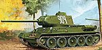 T-34/85 ''112 Factory Production'' -- Plastic Model Military Vehicle Kit -- 1/35 Scale -- #13290