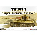 Tiger-I Gruppe Fehrmann Essel 1945 -- Plastic Model Military Vehicle Kit -- 1/35 Scale -- #13299