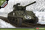 M4A3 (76)W Battle of the Bulge -- Plastic Model Military Vehicle Kit -- 1/35 Scale -- #13500