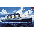 RMS Titanic Ocean Liner -- Plastic Model Commercial Ship Kit -- 1/400 Scale -- #14215