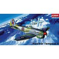 Hawker Tempest -- Plastic Model Airplane Kit -- 1/72 Scale -- #1669