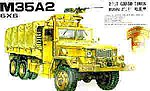 M35A2 2.5-Ton Cargo Truck -- Plastic Model Cargo Truck Kit -- 1/35 Scale -- #35004