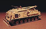M-88A1 RECOVERY VEHICLE -- Plastic Model Recovery Vehicle Kit -- 1/35 Scale -- #35008