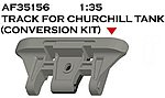 British Churchill Type T144 Dbl Pin Workable Track -- Plastic Model Tank Track -- 1/35 -- #35156