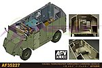 AEC Dorchester Armored Command Vehicle (New Tool) -- Plastic Model Command Vehicle -- 1/35 -- #35227