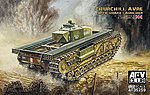 Churchill Avre Tank with Snake Launcher -- Plastic Model Military Vehicle -- 1/35 Scale -- #35259