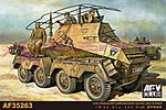 PzFuWg SdKfz 263 8-RAD Vehicle -- Plastic Model Personnel Carrier -- 1/35 Scale -- #35263